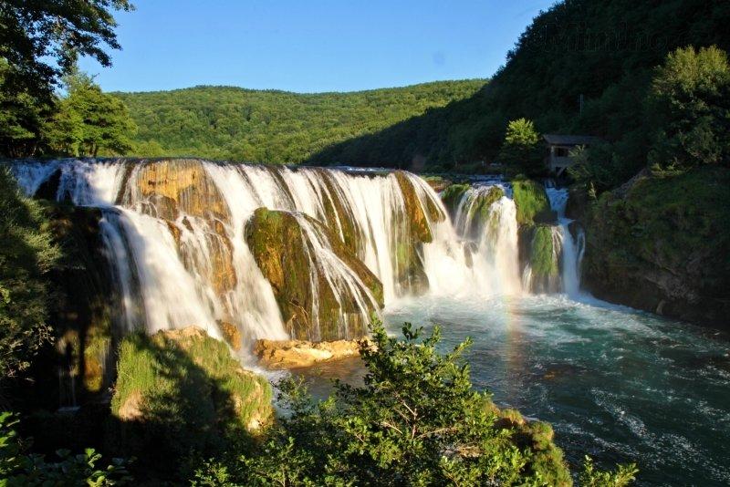 Bosna - národní park Una