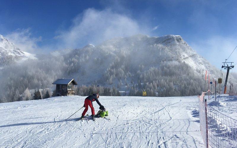 Naučte svoje děti lyžovat. Zdroj: Redakce.