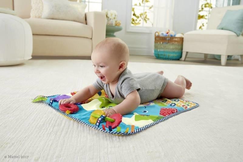 Hračky pomáhají v rozvoji motoriky.
