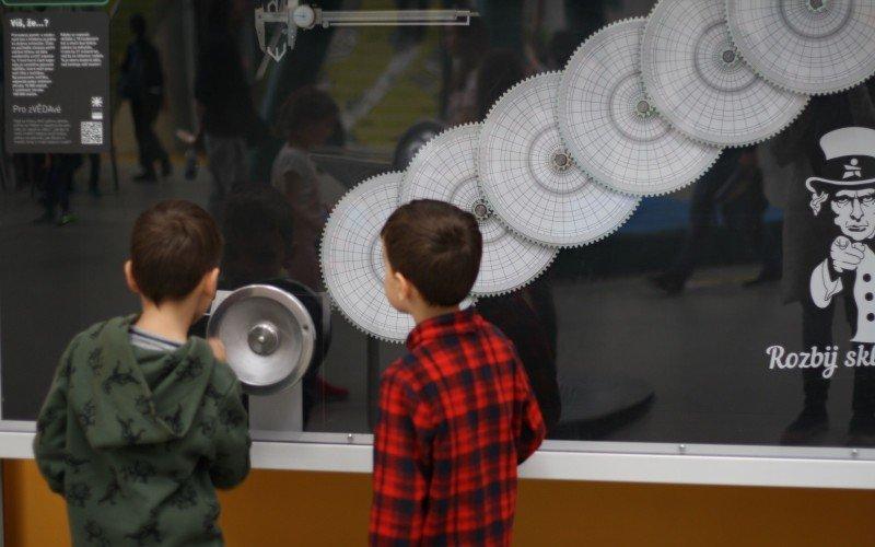 Techmanie přináší řadu naučných expozic nejen pro děti.