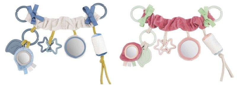 Vyhrajte pestrobarevnou závěsnou hračku na kočárek. Zdroj: Canpol babies.