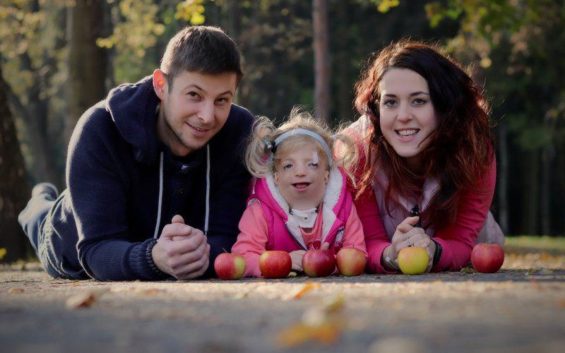 Maminka holčičky s TC syndromem: Každý den je velká škola