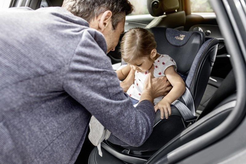 Protisměrné sedačky jsou nejbezpečnější. Zdroj: Baby Direkt.