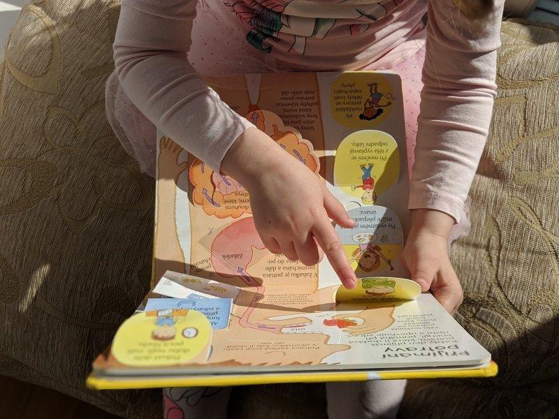 Dětičky chtějí chápat, jak funguje tělo.