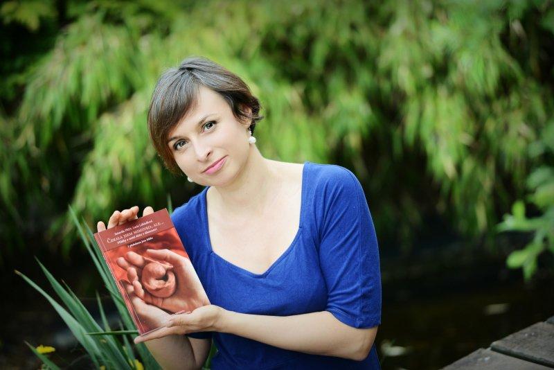 Lucie napsala knížku Čekala jsem miminko, ale... Zdroj: Archiv Lucie Lebduškové