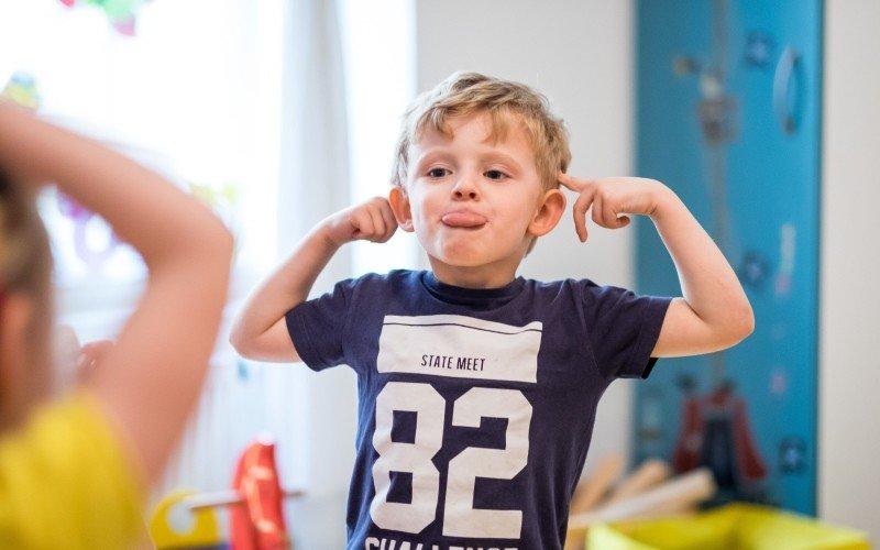 Pro děti je výuka jazyka zcela přirozená. Zdroj: archiv Terezy Dědkové.