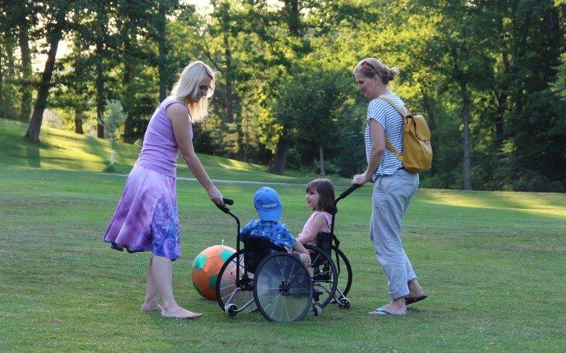 Raná péče pomáhá rodinám s postiženými dětmi od narození do sedmi let. Zdroj: Jolana Kopejsková