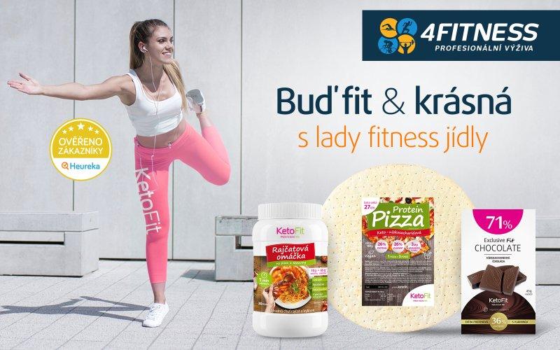 Buď fit a krásná s fitness jídly pro holky. Zdroj: KetoFit.