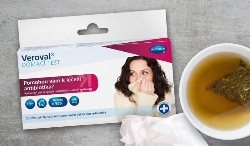 Domácí diagnostika se může stát dobrým rádcem při posuzování závažnosti zdravotního stavu. Zdroj: Lékárna Hartmann.