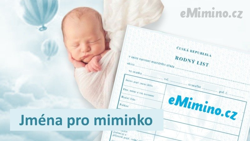 Jména pro miminko na eMimino.cz