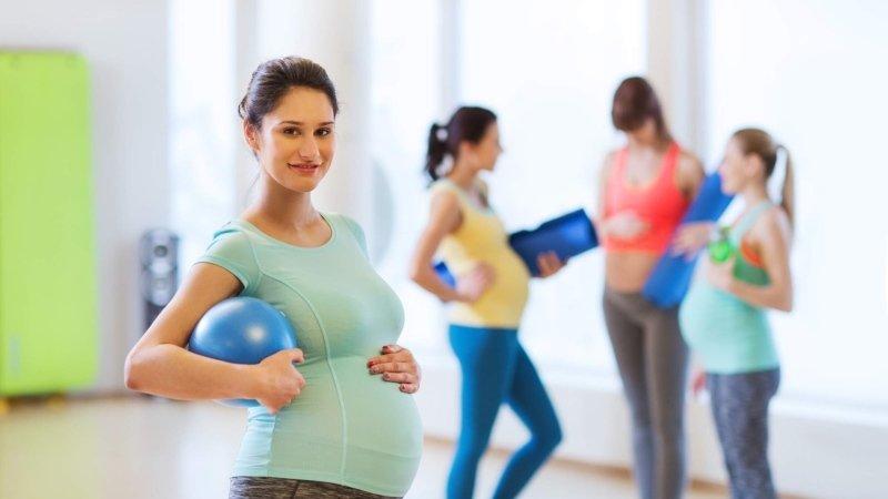 Cvičení pro těhotné může vyjasnit polohu, při které budete rodit. Zdroj: Shutterstock