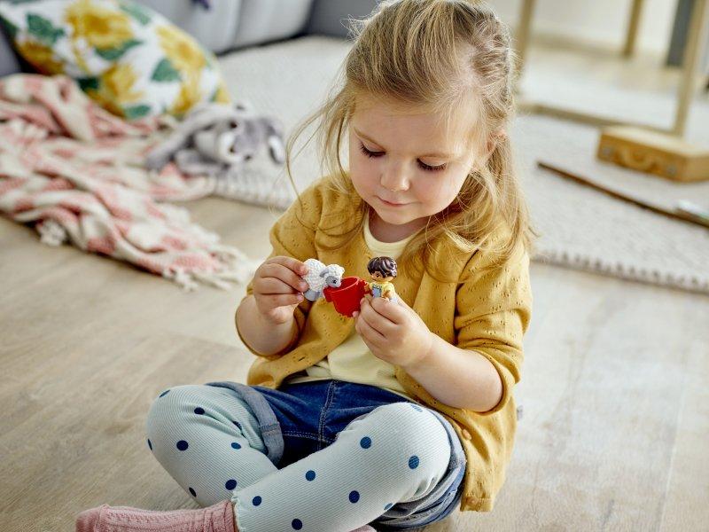 Stavebnice pomáhá rozvíjet tvořivost a představivost dětí. Zdroj: LEGO<sup>®</sup> DUPLO<sup>®</sup>