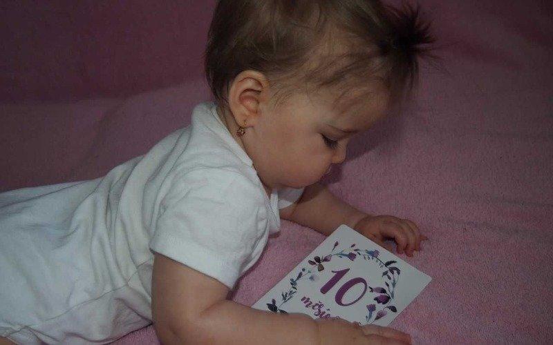 Chartlotka se narodila po sedmi letech snažení o miminko. Zdroj: archiv paní Magdy.