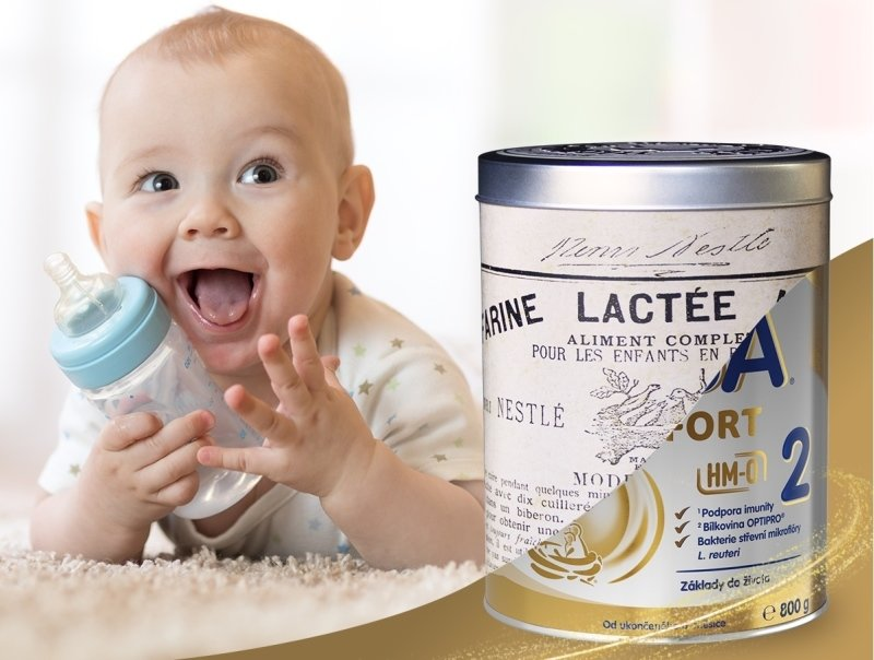 BEBA COMFORT HM-O: První a jediná kojeneckávýživa po vzoru mateřského mléka