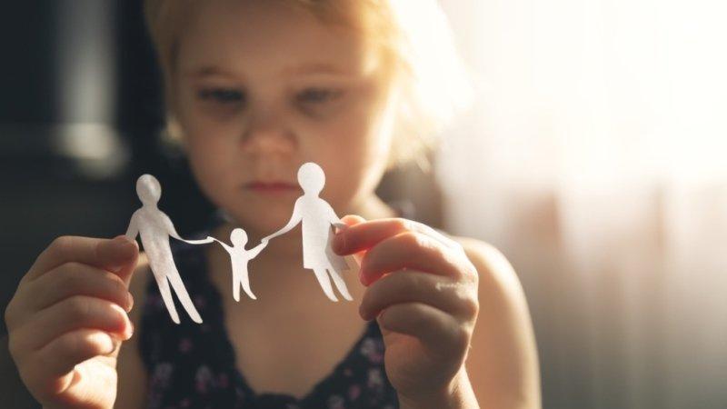 Děti zvládají rozchod rodičů tak, jak ho zvládají sami rodiče
