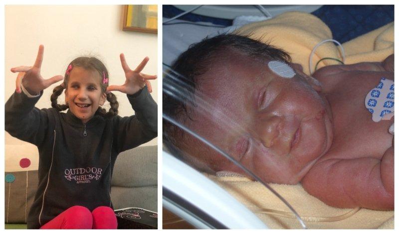 Adélka je veselé děvče. Jako miminko musela na chvíli do inkubátoru.