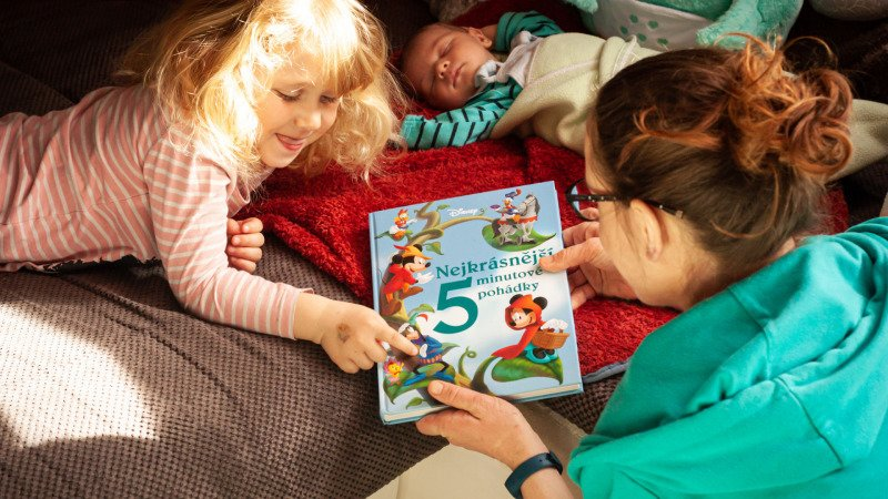 Otestováno dětmi: Disneyho kniha známých 5minutových pohádek