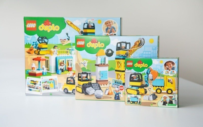 Lego Duplo zabaví děti na dlouhou dobu.