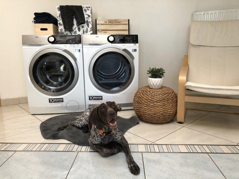 AEG_ nejlepší na sušení prádla.
