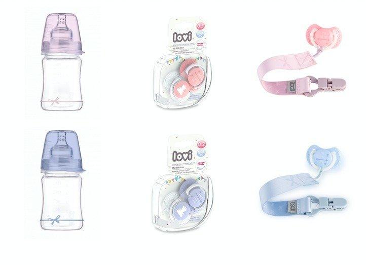 Vyhrajte balíček LOVI Baby Shower pro novorozenou holčičku, nebo chlapečka. Zdroj: LOVI