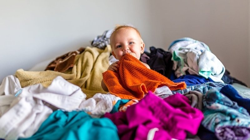 Praním prádla svých ratolestí pomůžete maminkám v azylových domech