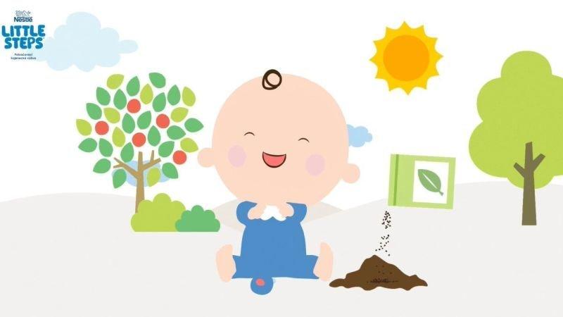 Zasaďme strom vašemu miminku s kojeneckou výživou LITTLE STEPS