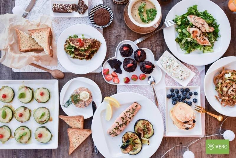 Důležitá je zdravá a rozmanitá strava. Zdroj: VERO