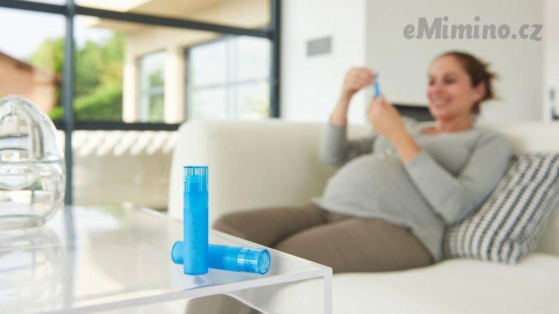 Homeopatická léčba může provázet těhotnou ženu od těhotenství až po šestinedělí. Zdroj: Redakce
