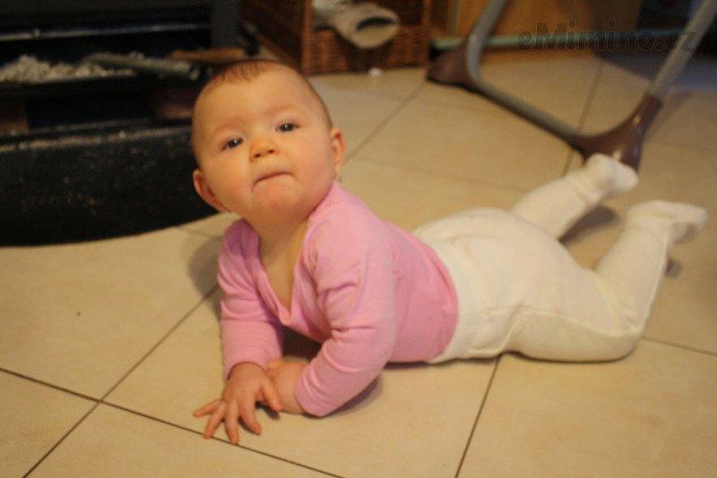 První těhotenství zakončené porodem zdravé dcery