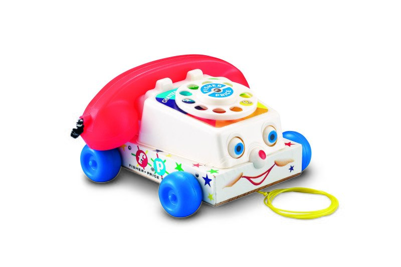 Telefon Chatter je dnes už ikonickou hračkou Fisher-Price. Zdroj: Fisher-Price.