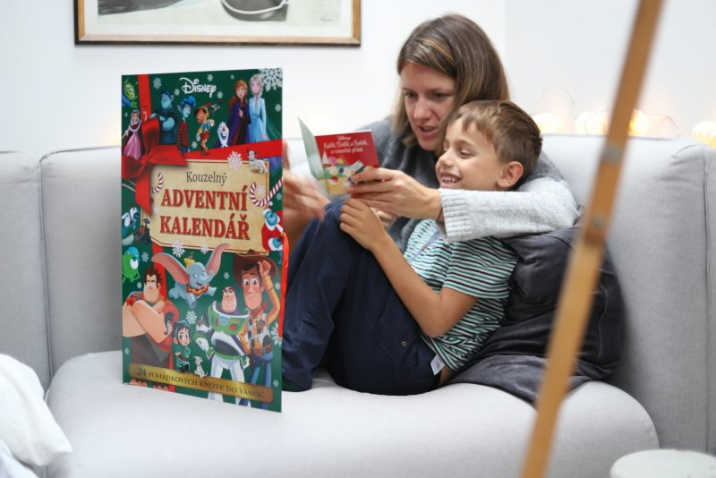 Adventní kalendář: vyměňte letos čokoládu za kouzelné vánoční příběhy