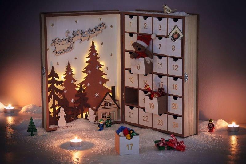 Zasoutěžte si o adventní kalendář. Zdroj: decoDoma.