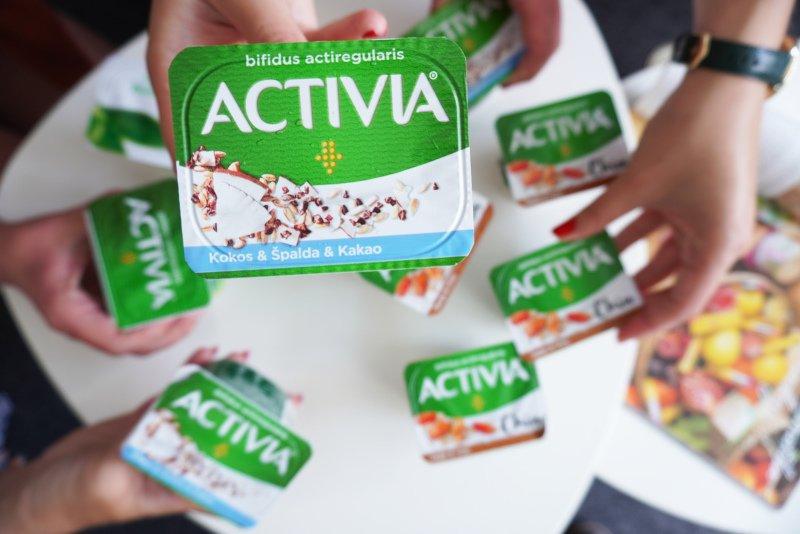 Víte, které jogurty Activia obsahují nejvíc probiotik?