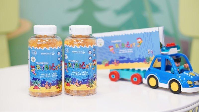 Norské Rybičky pro chytré hlavičky: Zapojte se do 2měsíčního testu doplňku stravy pro děti