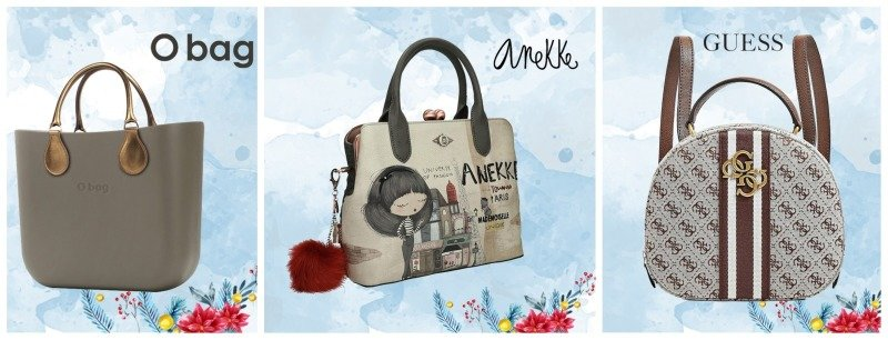 Luxusní kabelky Guess, O bag a Anekke si zamilujete. Zdroj: Different.cz.