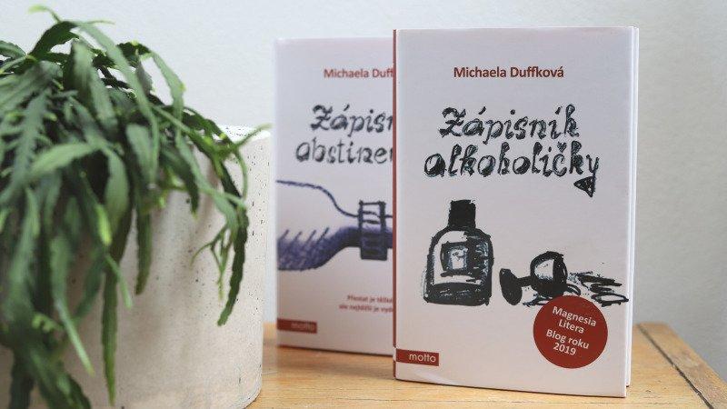 Dvojice knih z nakladatelství Motto potěší každého deníčkového čtenáře. Foto: Redakce